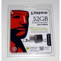 Kingston 32GB Micro USB 2.0 DataTraveler Flash Drive